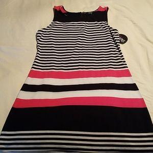 Cotton, knee length dress